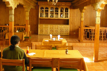 Dining area, Lharimo Hotel Leh